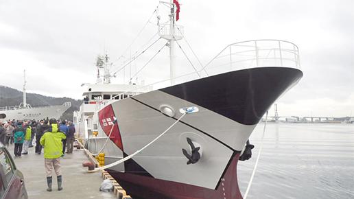 その1・遠洋マグロ延縄漁船